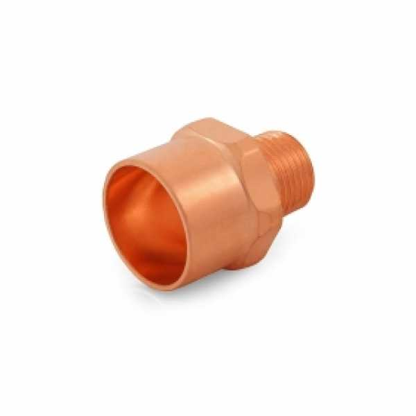 "1"" Copper x 1/2"" Male Threaded Adapter"
