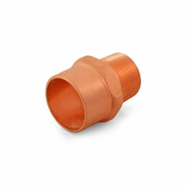 """1"""" Copper x 3/4"""" Male Threaded Adapter"""
