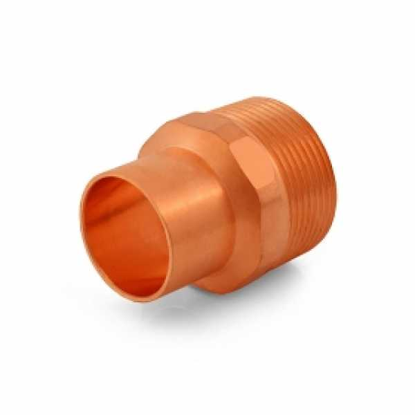 "1"" Copper x 1-1/4"" Male Threaded Adapter"