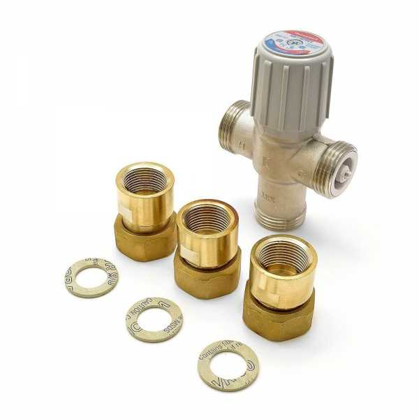 "3/4"" Union Threaded Mixing Valve (Lead-Free), 70-120F"
