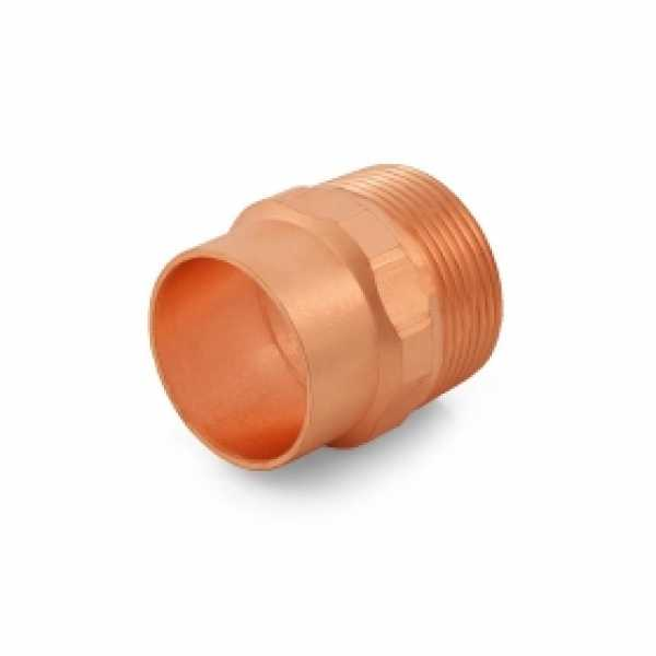 """1-1/4"""" Copper x Male Threaded Adapter"""