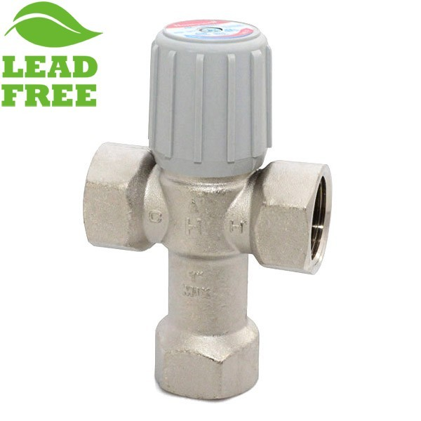 "1"" Threaded Mixing Valve (Lead-Free), 70-145F"