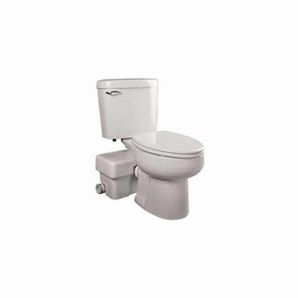Liberty Pumps ASCENTII-EW Toilet Bowl for Ascent II, Elongated, White