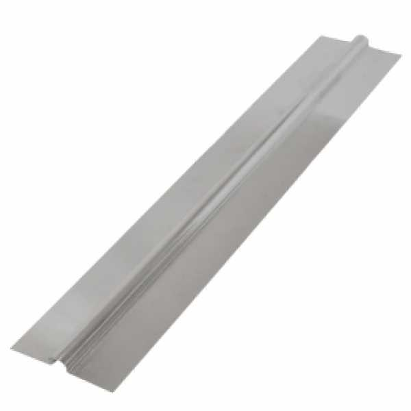 "2ft long x 4"" wide, 1/2"" PEX Aluminum Heat Transfer Plates (200/box), U-Shaped, Imported"