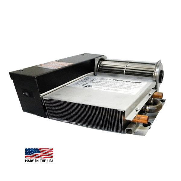 K42 Kickspace Heater Twin-Flo III, 1480-5240 BTU, 53 CFM