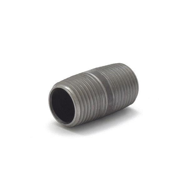 """Everhot BL-012X112 1/2"""" x 1-1/2"""" Black Pipe Nipple"""