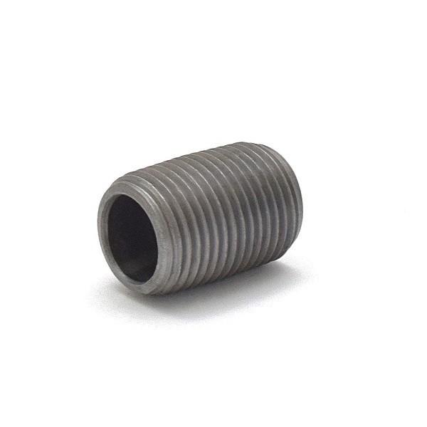 "Everhot BL-012XCL 1/2"" Close Black Pipe Nipple"