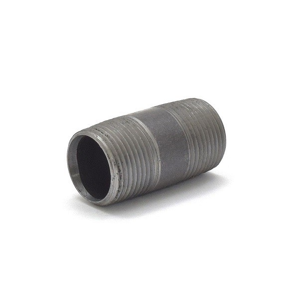 """Everhot BL-034X3 3/4"""" x 3"""" Black Pipe Nipple"""