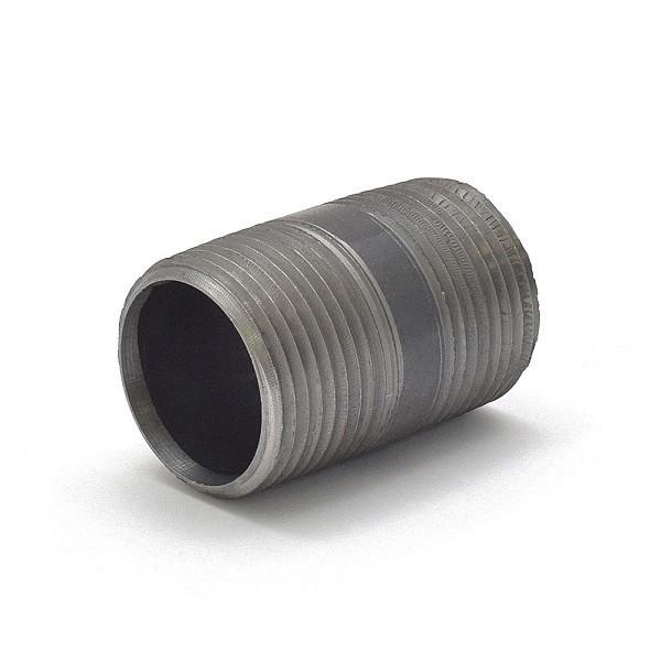 """Everhot BL-100X3 1"""" x 3"""" Black Pipe Nipple"""