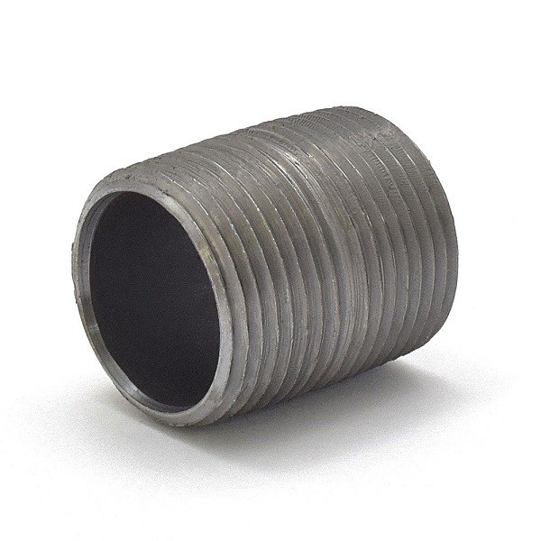 "Everhot BL-100XCL 1"" Close Black Pipe Nipple"