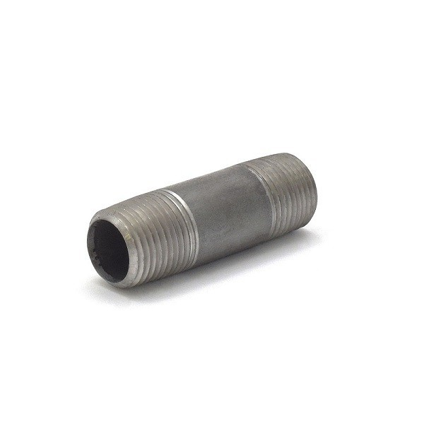 "1/2"" x 2-1/2"" Black Pipe Nipple"