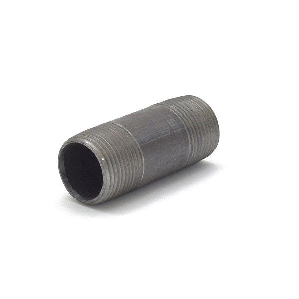 "3/4"" x 2-1/2"" Black Pipe Nipple"