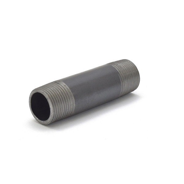 "Everhot BL-034X312 3/4"" x 3-1/2"" Black Pipe Nipple"