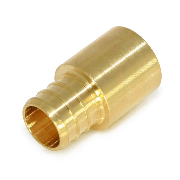 "Everhot BPF7208 3/4"" PEX x 1/2"" Copper Fitting Adapter"