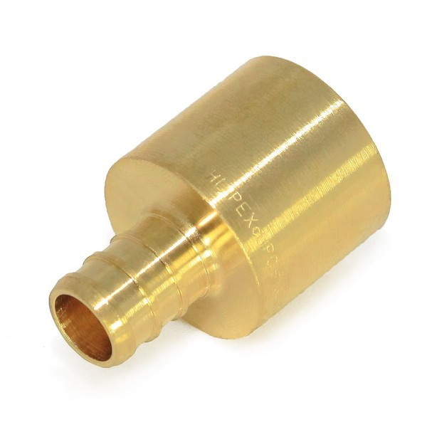 "Everhot BPF7303 5/8"" PEX x 3/4"" Copper Pipe Adapter"