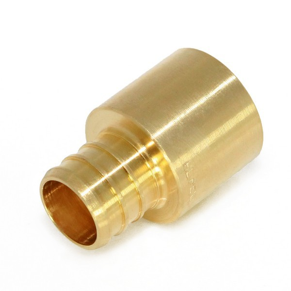 "Everhot BPF7304 3/4"" PEX x 3/4"" Copper Pipe Adapter"