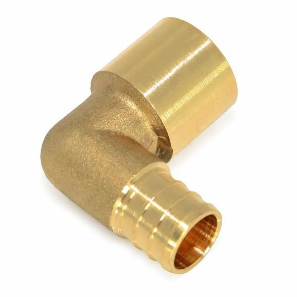 "Everhot BPF7703 3/4"" PEX x 3/4"" Copper Pipe Elbow"