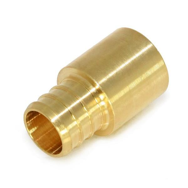 "Everhot BPF7205 1"" PEX x 3/4"" Copper Fitting Adapter"