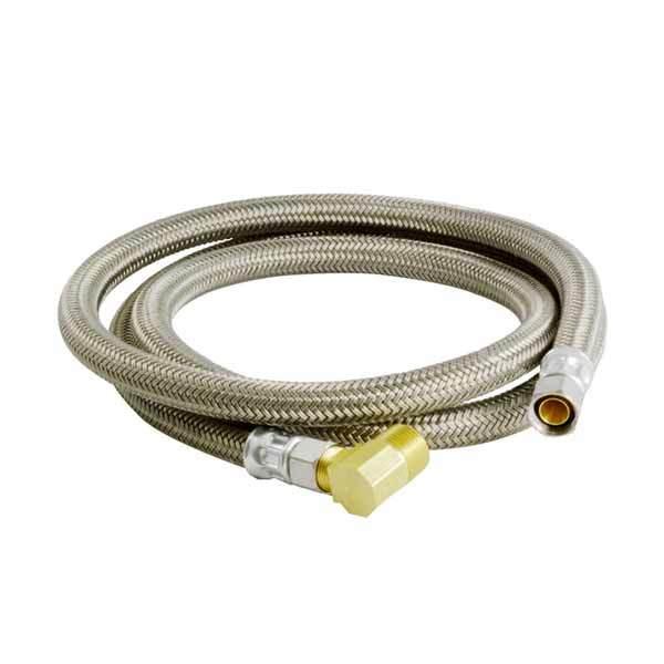 """BrassCraft B1-60DW6-P 60"""" Dishwasher Connector (3/8"""" Compr. x 3/8"""" Compr. Elbow)"""