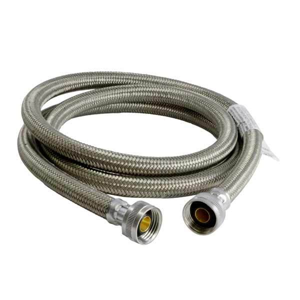 "BrassCraft BL12-48WA-F 48"" Poly-coated Washing Machine Connector (3/4"" Female Hose)"