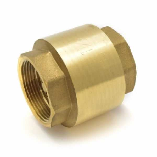 "1-1/2"" Threaded Spring Check Valve"