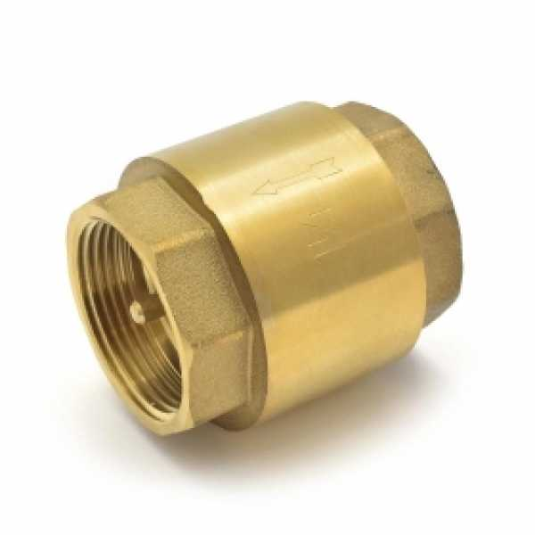 "1-1/4"" Threaded Spring Check Valve"