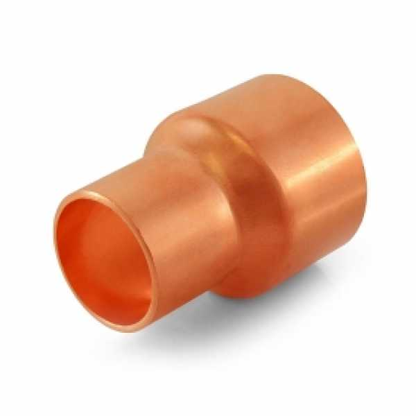 "1-1/2"" x 1"" Reducing Copper Coupling"
