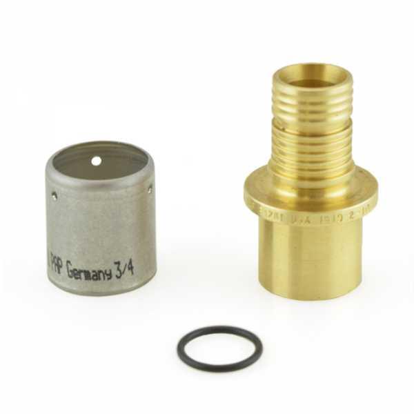 """Uponor (Wirsbo) D4517575 3/4"""" PEX-AL-PEX Press x Copper Pipe Adapter"""