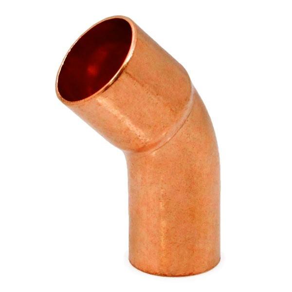 """Everhot E45-ST-60 1-1/4"""" FTG x Copper Elbow, 45°"""