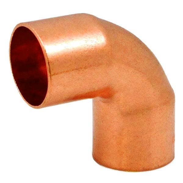 "Everhot E90-50 1"" Copper Elbow, 90°"