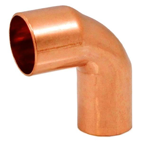 """Everhot E90-ST-50 1"""" FTG x Copper Street Elbow, 90°"""