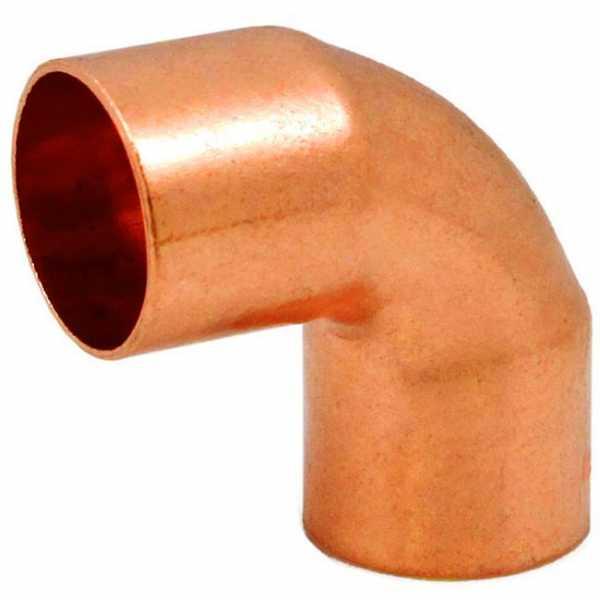 "2"" Copper, 90° Elbow"
