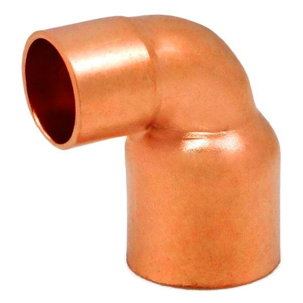 "1"" x 1-1/4"" Copper 90° Reducing Elbow"