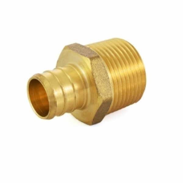 "3/4"" PEX x 3/4"" Male Threaded Adapter (Lead-Free)"