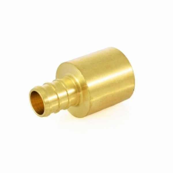 """1/2"""" PEX x 3/4"""" Copper Fitting Adapter, Lead-Free"""