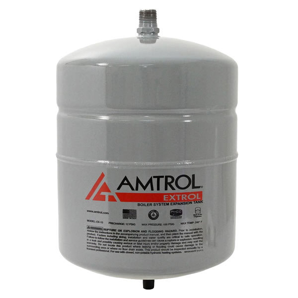 Extrol #15 Expansion Tank (2.0 Gal Volume)