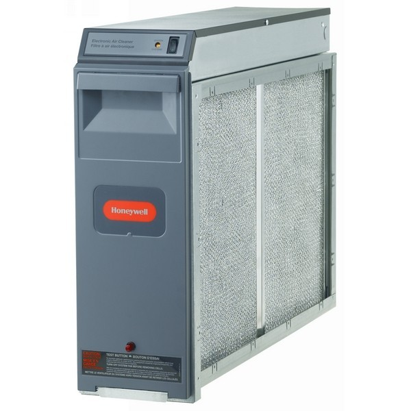 Honeywell F300E1027 F300 Electronic Air Cleaner w/ Enhanced Filtration, 20 x 20 , 120 V, 1400 Max