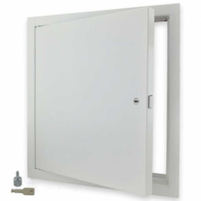 18 x 18 fire rated access door steel plumbing