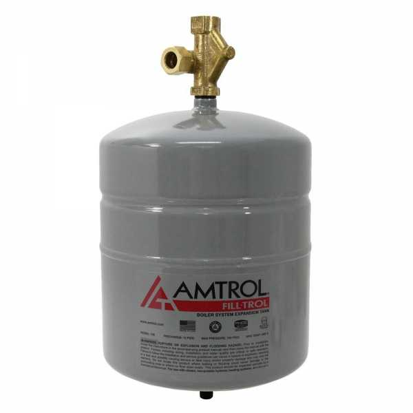 109-1 Fill-Trol 109 Expansion Tank With Fill Valve Amtrol (109) Expansion Tank  2.0 G