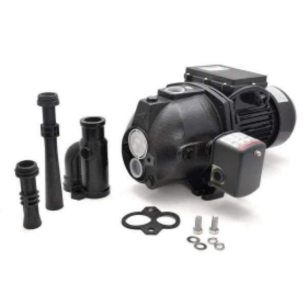 1/2 HP Deep Well Jet Pump w/ Pressure Switch, 115V/230V, Cast Iron