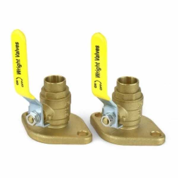"3/4"" SWT Isolator Flange Valves (pair)"
