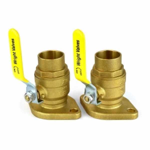 "1-1/4"" SWT Isolator Flange Valves (pair)"
