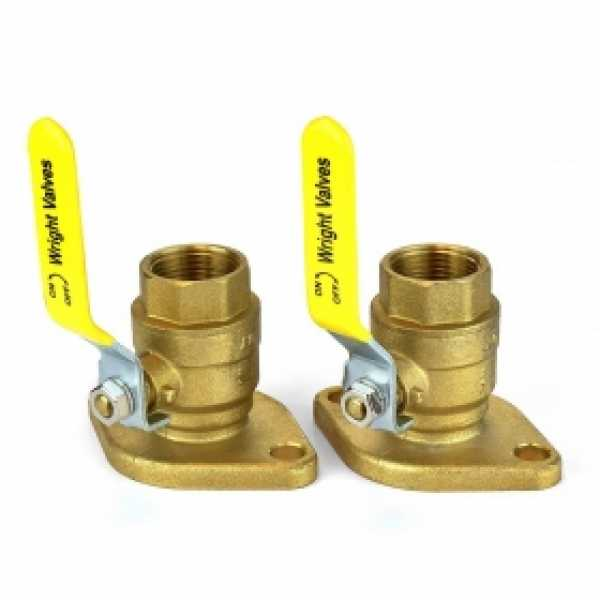 "1"" Threaded Isolator Flange Valves"
