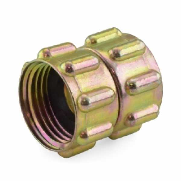 "3/4"" FGH x 3/4"" FGH Swivel Brass Coupling (Union), Lead-Free (Bag of 25)"