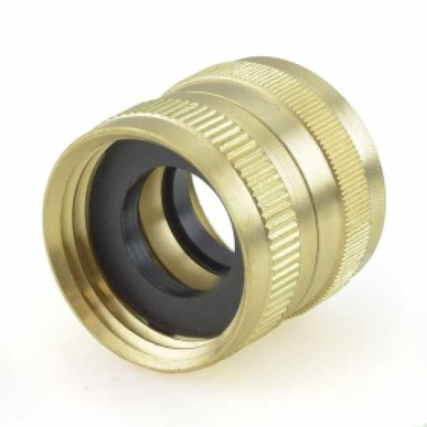 "3/4"" FGH x 3/4"" FGH Swivel Brass Coupling (Union)"