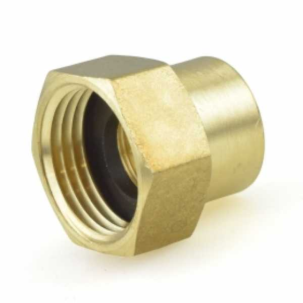 "3/4"" FGH x 1/2"" FIP Brass Adapter"