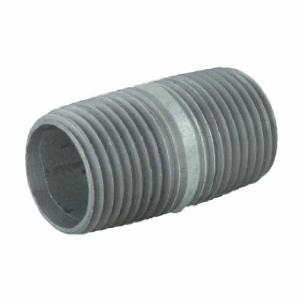"1/2"" x 1-1/2"" Galvanized Steel Pipe Nipple"