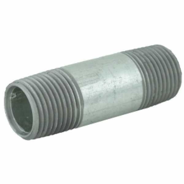 "1/2"" x 2-1/2"" Galvanized Steel Pipe Nipple"