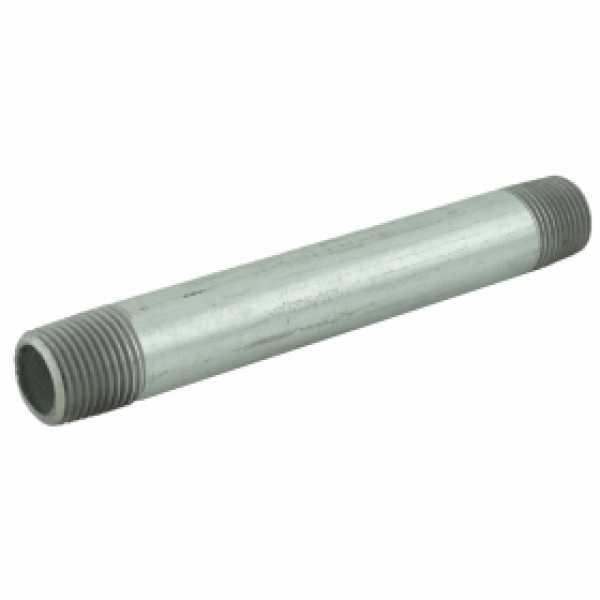 "1/2"" x 6"" Galvanized Steel Pipe Nipple"