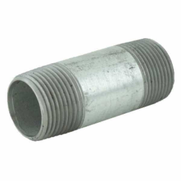 "3/4"" x 2-1/2"" Galvanized Steel Pipe Nipple"